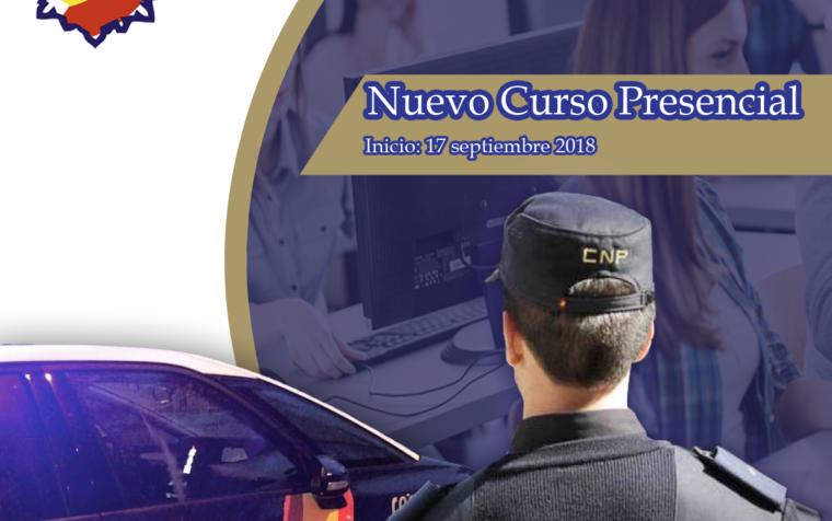 17 – SEPTIEMBRE – 2018: INICIO NUEVO CURSO PRESENCIAL (PRÓXIMA CONVOCATORIA 2019)
